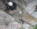 Via ferrata: Rax-Teufelsbadstubensteig - via ferrata túránk elején
