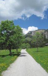 Kaiserschild klettersteig: túránk elején