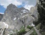 Kaiserschild klettersteig: túra a beszállásig
