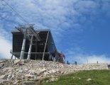 Gyömbér_csúcs gerinctúra: Chopok(2024m) csúcsa melletti felvonó
