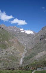 Hegymászás - Ötz-völgyi Alpok: Similaun(3606m) - útban Vent(1896m) felé