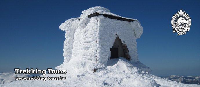Heukuppe-csúcs (2007m) - téli túra