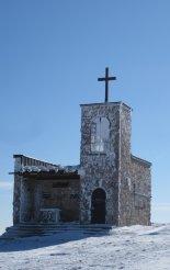 Rax-Alpok: Heukuppe-csúcs(2007m) hótalpas csúcstúra - kis kápolna