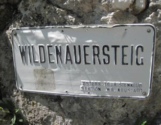 Wildenauersteig - Gebirgsvereinssteig