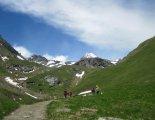 Grossglockner (3798m) - túránk a hüttéig