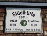 Grossglockner (3798m) - Stüdlhütte (2801m)