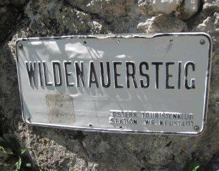 Haid-Steig - Wildenauersteig - Gebirgsvereinssteig