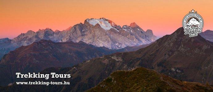 Marmolada (3343m) - Piz Boé (3152m)
