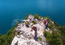 Garda-tó - via ferrata - classic