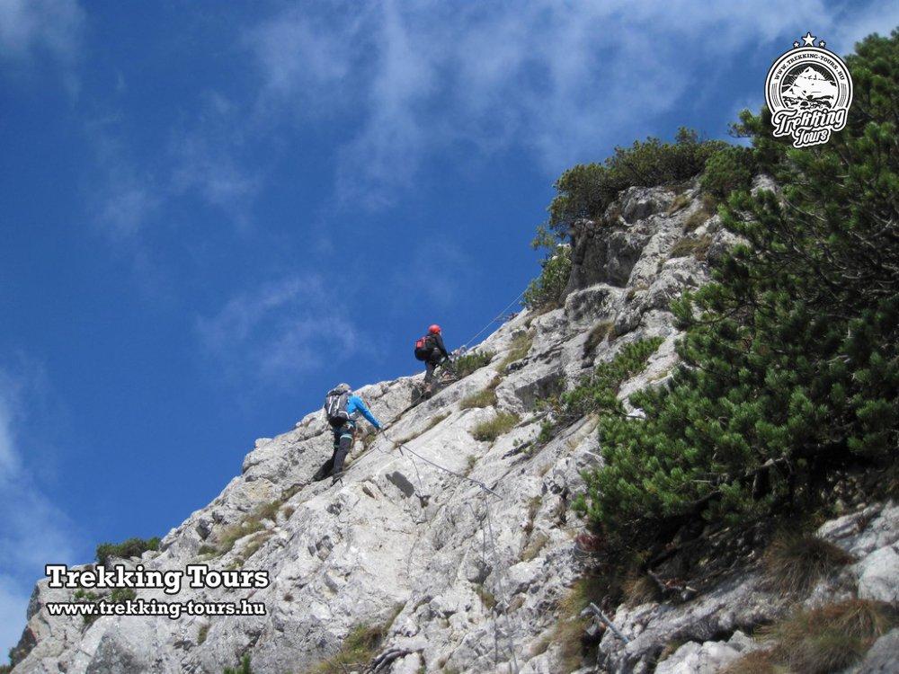 Eisenerzer Klettersteig : Eisenerzer klettersteig trekking tours