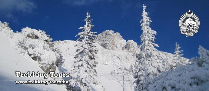 Heukuppe-csúcs (2007m) - Schneeberg (2076m) - téli túra