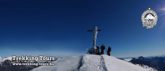 Similaun (3606m) - téli csúcstúra