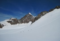 Monte Rosa (4563m) - csoport négyezresei