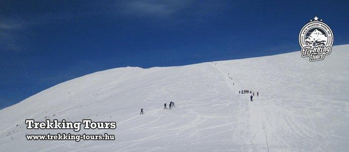 Gyömbér-csúcs (2043m) hótalpas túra - 2 napos gerinctúra Certovicából