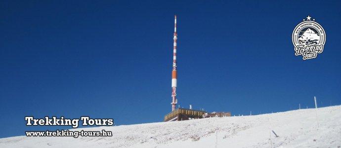 Király-hegy (1948m) - Gyömbér-csúcs (2043m) hótalpas túra