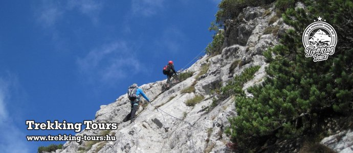 Grete Klinger-Steig - Eisenerzer-klettersteig
