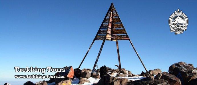 Toubkal (4167m) - magashegyi trekking