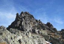 Magas-Tátra: Vörös-torony-hágó (2352m) - Kis-Viszóka (2429m)