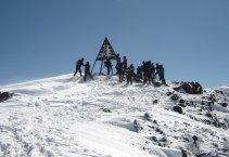 Toubkal (4167m) - téli mászás