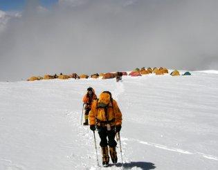 Himalája: Cho Oyu expedíció - Camp2 (7150m)