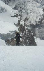 Tádzsikisztán-Pamír: Korzsenyevszkaya - két tábor között kb. 6000 méteren